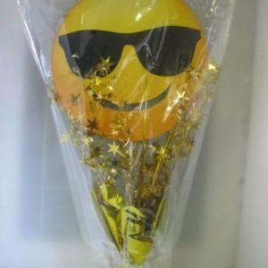 Centre piece 39Cm gold sunglasses 1