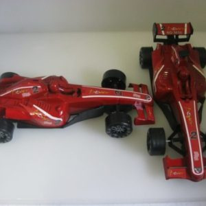 Red f1 racing car plastic. 20cm