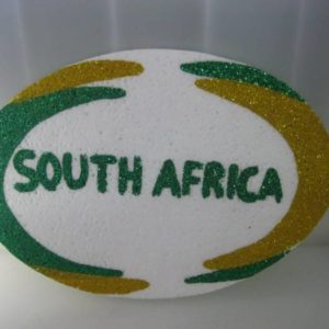 Polystyrene rugby ball 27cm