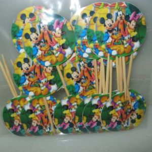 Mickey mouse and friends food picks 20 per pack