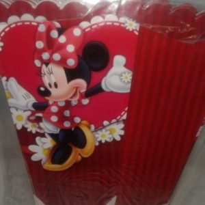 Minnie mouse red popcorn boxes small 10 per pack
