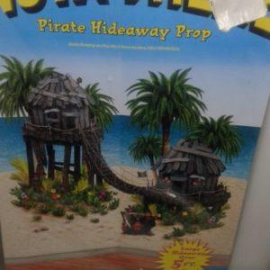 Pirate hideaway insta theme props 168x156cm