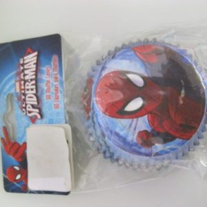 Spiderman cup cake papers 60 per pack