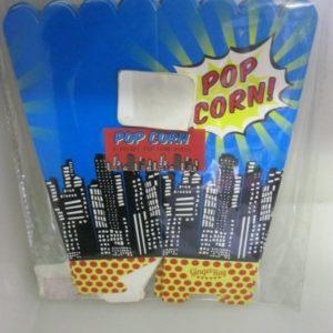 Vintage pop art popcorn boxes 8 per pack