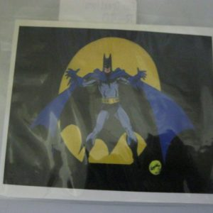 Batman stickers black 10x8cm 10 per pack