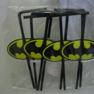 Batman straws 8 per pack