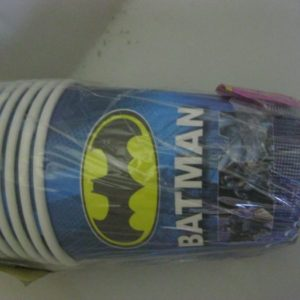 Batman paper cups 10 per pack