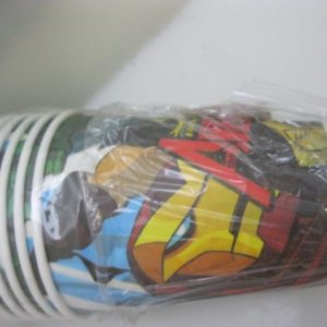 Avengers group cups paper, 10 per pack