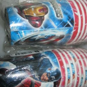 Avengers cups 8 per pack