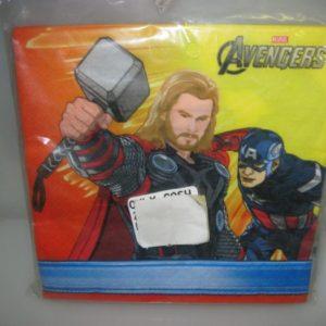 Avengers serviettes 20 per pack