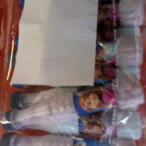 Frozen themed sherbet 10 per pack