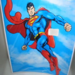 Superman A3 wall poster