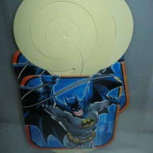 Batman hanging decor twirls 2 per pack.
