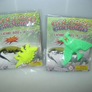 Growing dinosaur toys 6 per pack