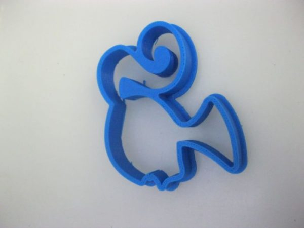 Barbie face shaped plastic cookie cutter 3x5cm
