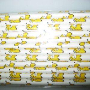 Giraffe vintage paper straws 25 per pack