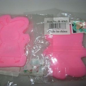Peppa pig silicon mould 6cm