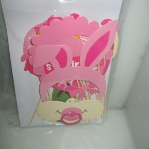 Its a girl photo prop set bunny ears