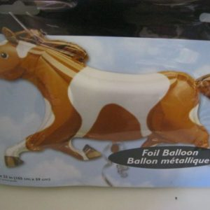 Horse super shape foil balloon 105x59cm
