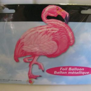 Flamingo super shape foil balloon 69x89cm