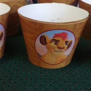 Lion guard cupcake wrappers 10 per pack