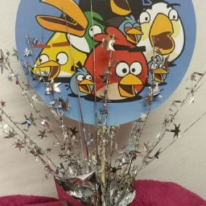 Angry birds table center piece 39 cm