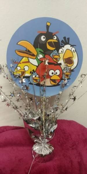 Angry Birds Table Center Piece 39 Cm Fun Creations