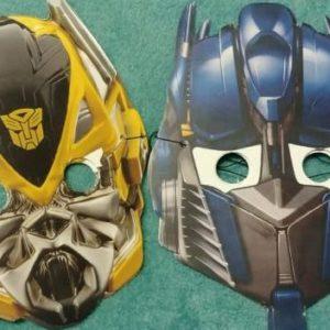 Transformer masks 6 per pack.