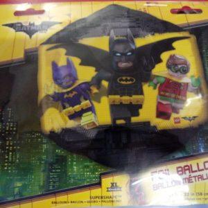 Lego Batman foil balloon super shape.
