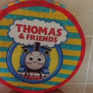 Thomas the train 2d pinata, sold empty.