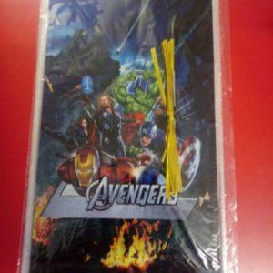 Avengers cellophane bags