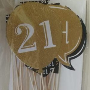 21st Photo prop set