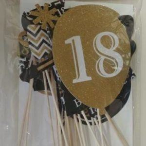 18th birthday photo prop set.