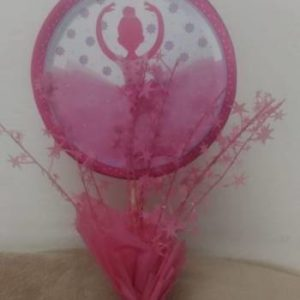 Ballet center piece pink base