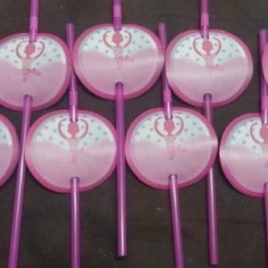 Ballet straws 8 per pack