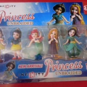 Disney princess plastic figurines 6 piece