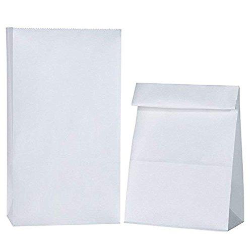 White Paper Bags 10 Per Pack