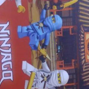 Lego ninjago A3 wall poster
