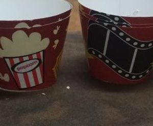 Hollywood movie night cup cake wrappers