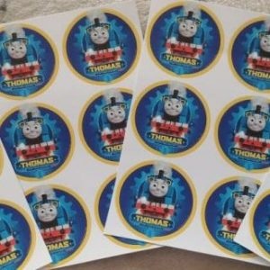 Thomas the train stickers small