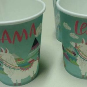 Lama paper cups 10 per pack.