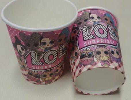 LOL Dolls cups