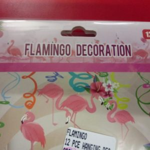 Flamingo decoration set