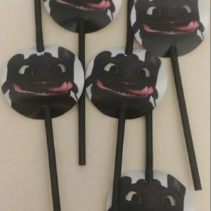 How to train your dragon straws