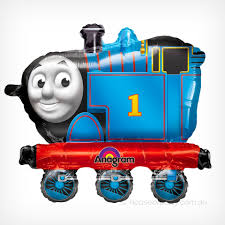 Thomas the train foil balloon super shape