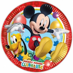mickey mouse clubhouse plates pack of 8
